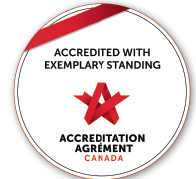 Niagara Health celebrates Exemplary Standing by Accreditation Canada.