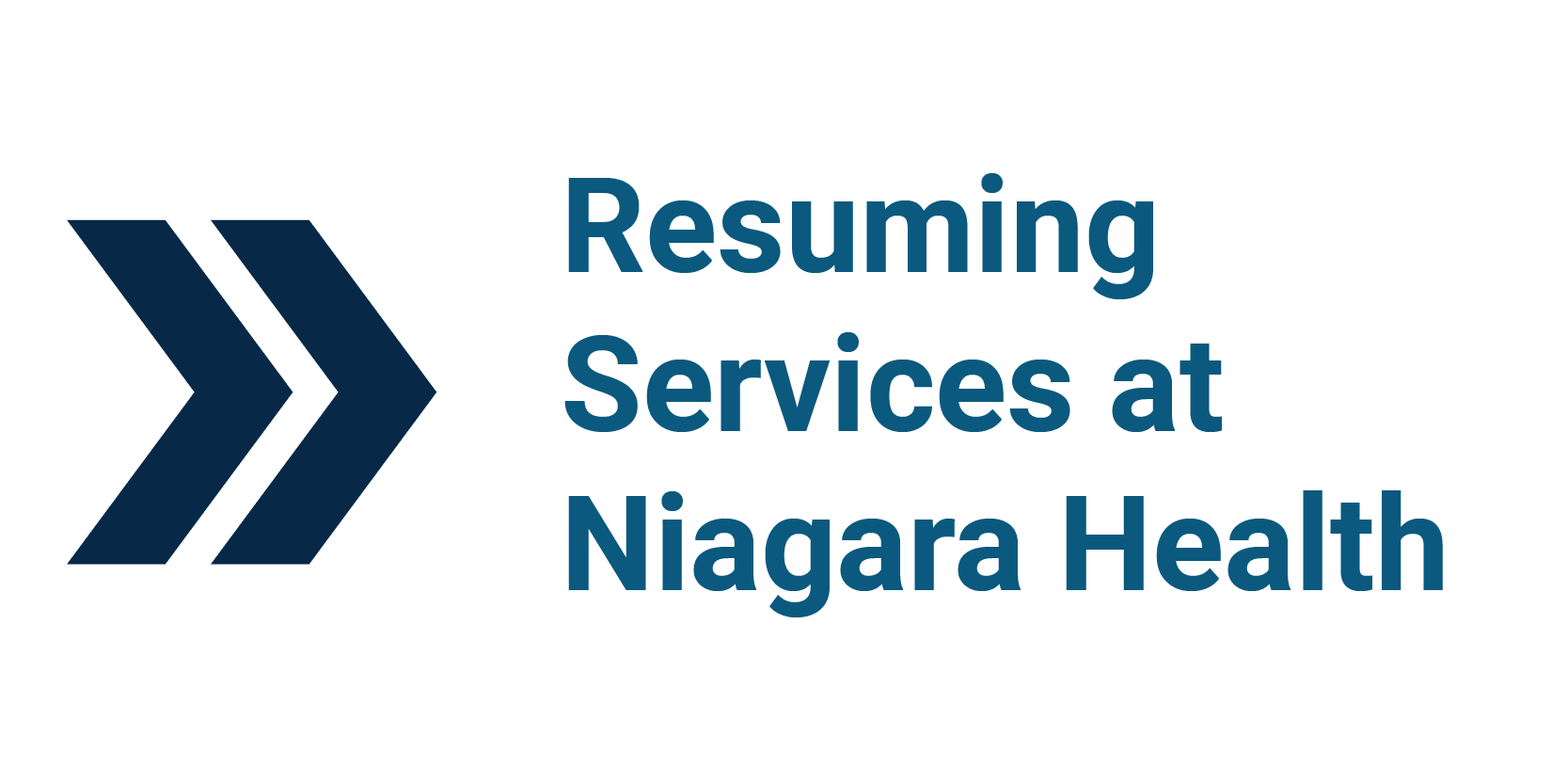 Resuming Services at Niagara Health