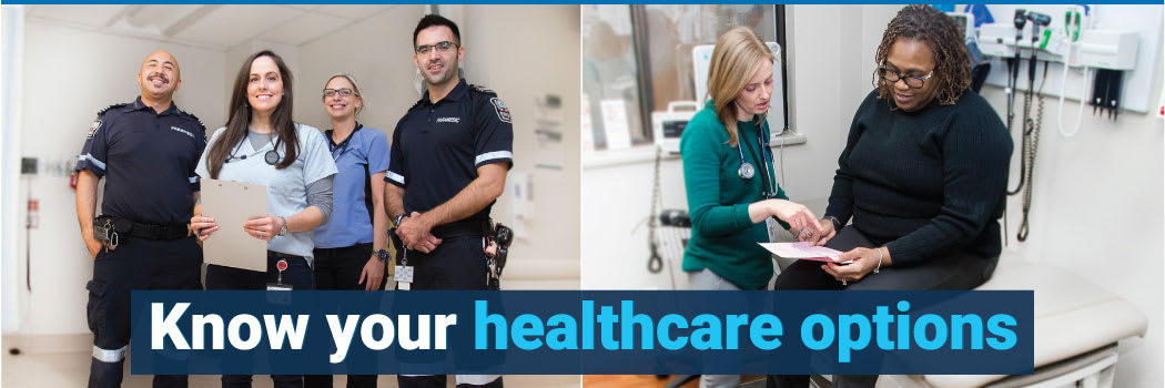 Know your healthcare options in Niagara