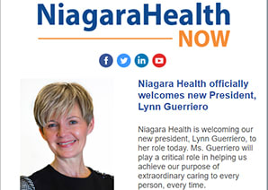 Niagara Health Now Publication