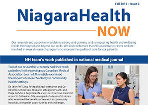 Niagara Health  Now