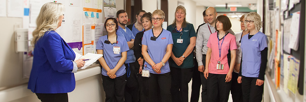 Niagara Health Team Huddle