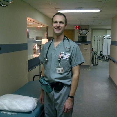 Dr. James Beecroft has the distinction of being the last Emergency Department Physician to care for patients at the St. Catharines General Site ED
