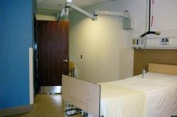 private patient room that has allowed us to test accessibility, lighting, finishes and more