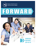 Niagara Health System Annual Report Forward 2014-2015