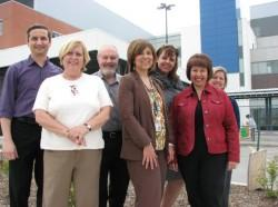 Members of the team who led the Diagnostic Imaging procurement package include Frank Gigliotti, Kathy Finkbeiner, Don Gordon, Bonnie Sipos, Gloria Kain, Maria Vuono and Jae Sonke.