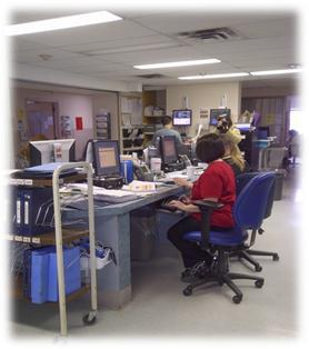 nursing station at St. Catharines General
