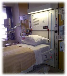 ICU room at St. Catharines General